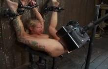 Crazy BDSM machine sex