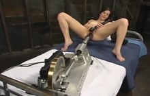Bobbi Starr checking out fucking machines